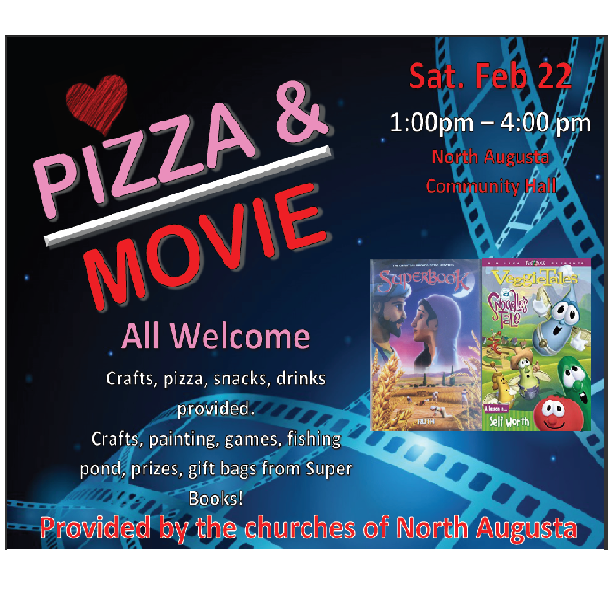Pizza and Movie Night Feb 22